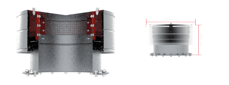 Лубнымаш - система вентиляции силосов